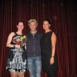 Erfolgreiche Premiere - unter den Gästen Sascha Grammel