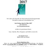 Paul-Gerhardt-Ball am 24.03.2017