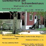 Rückblick Sommerfest am Schwedenhaus