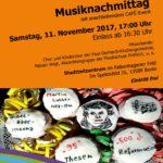 Musiknachmittag am 11.11.