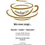 Kleines Kunst-Café am 06.03. um 18.30 Uhr