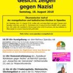 18.08.2018 - Gesicht zeigen gegen Nazis!