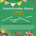 Interkultureller Abend im Schwedenhaus am 01.10.